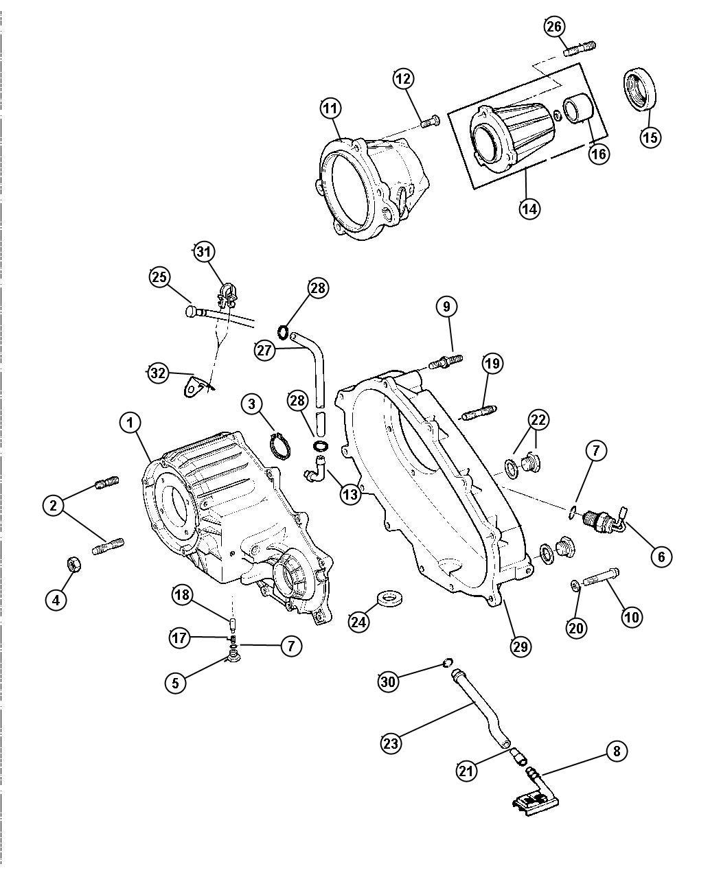 Dodge Dakota Switch Transfer Case Mode