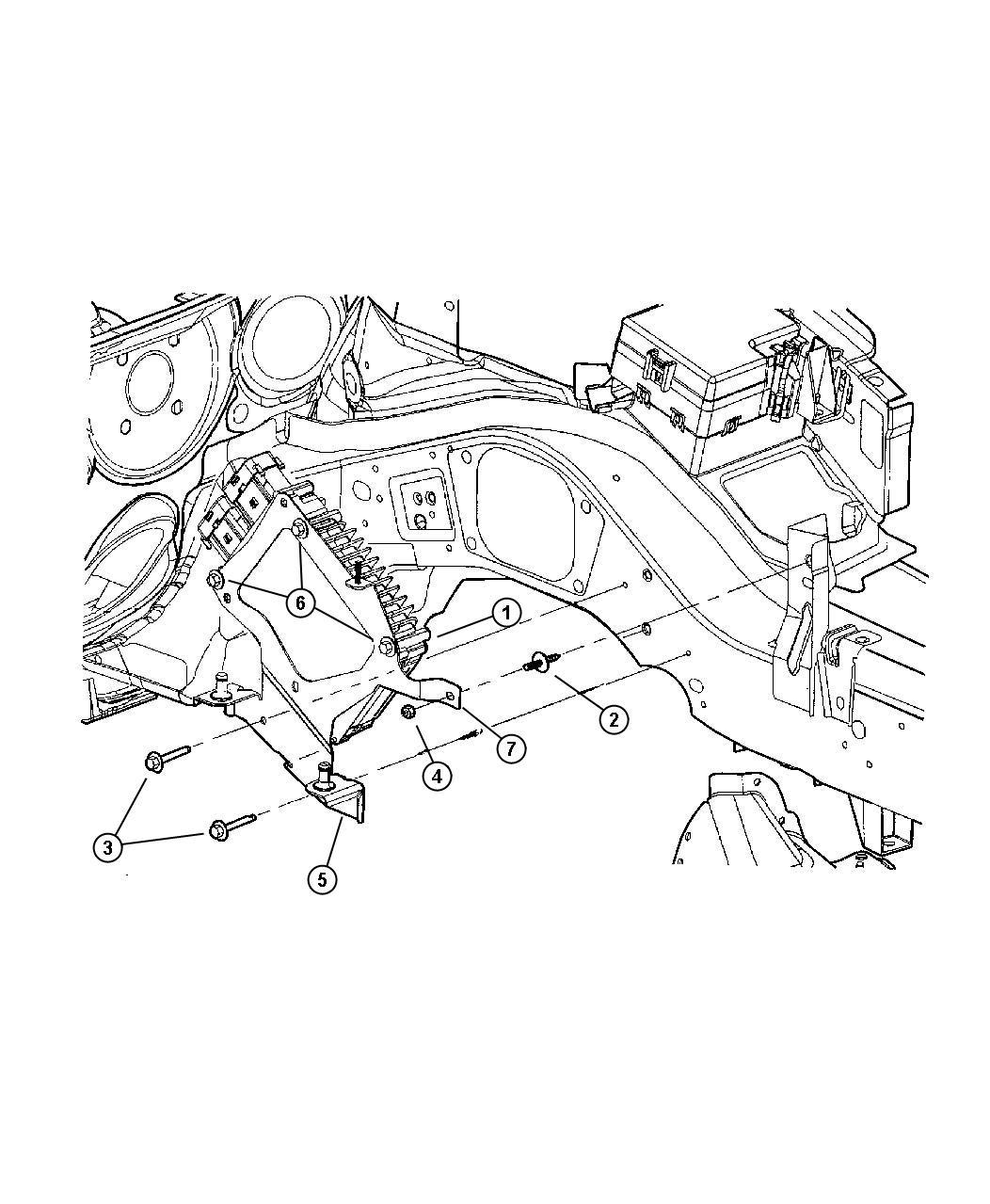 Chrysler Sebring Engine Control Modules 2 0l I4 Dohc