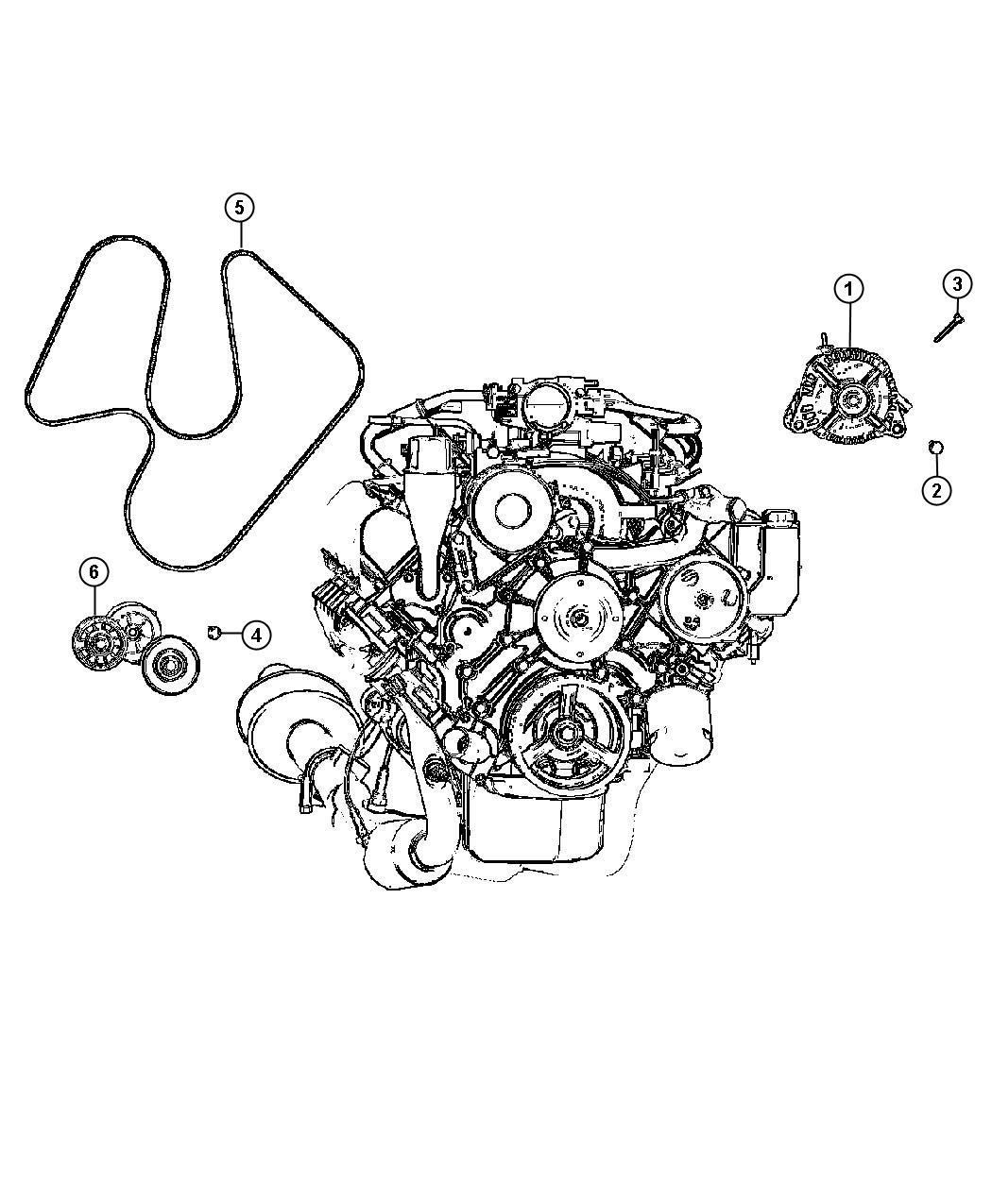 Dodge Dakota Generator Remanufactured Engine 136 Amp