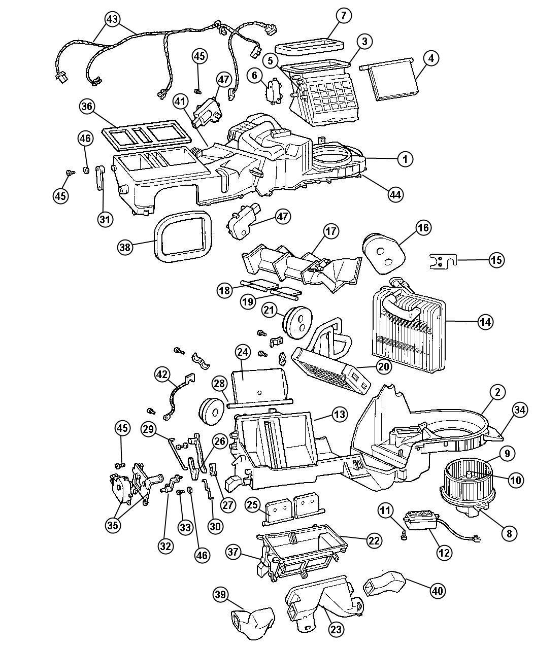 Jeep Grand Cherokee Module Resistor Blower Motor Power