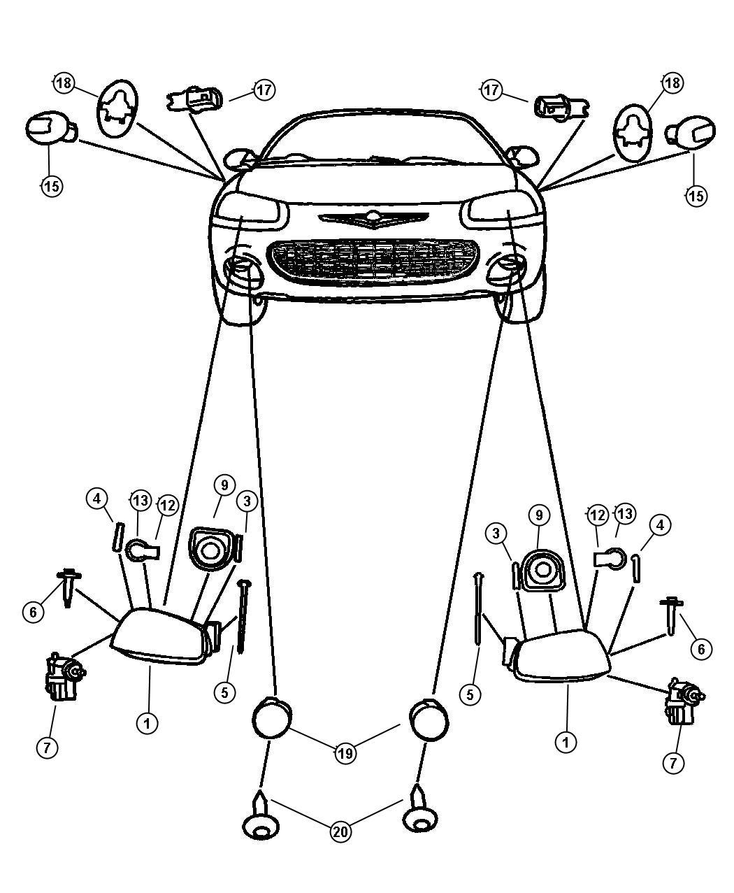 Chrysler Sebring Wiring Headlamp Halogendaytime