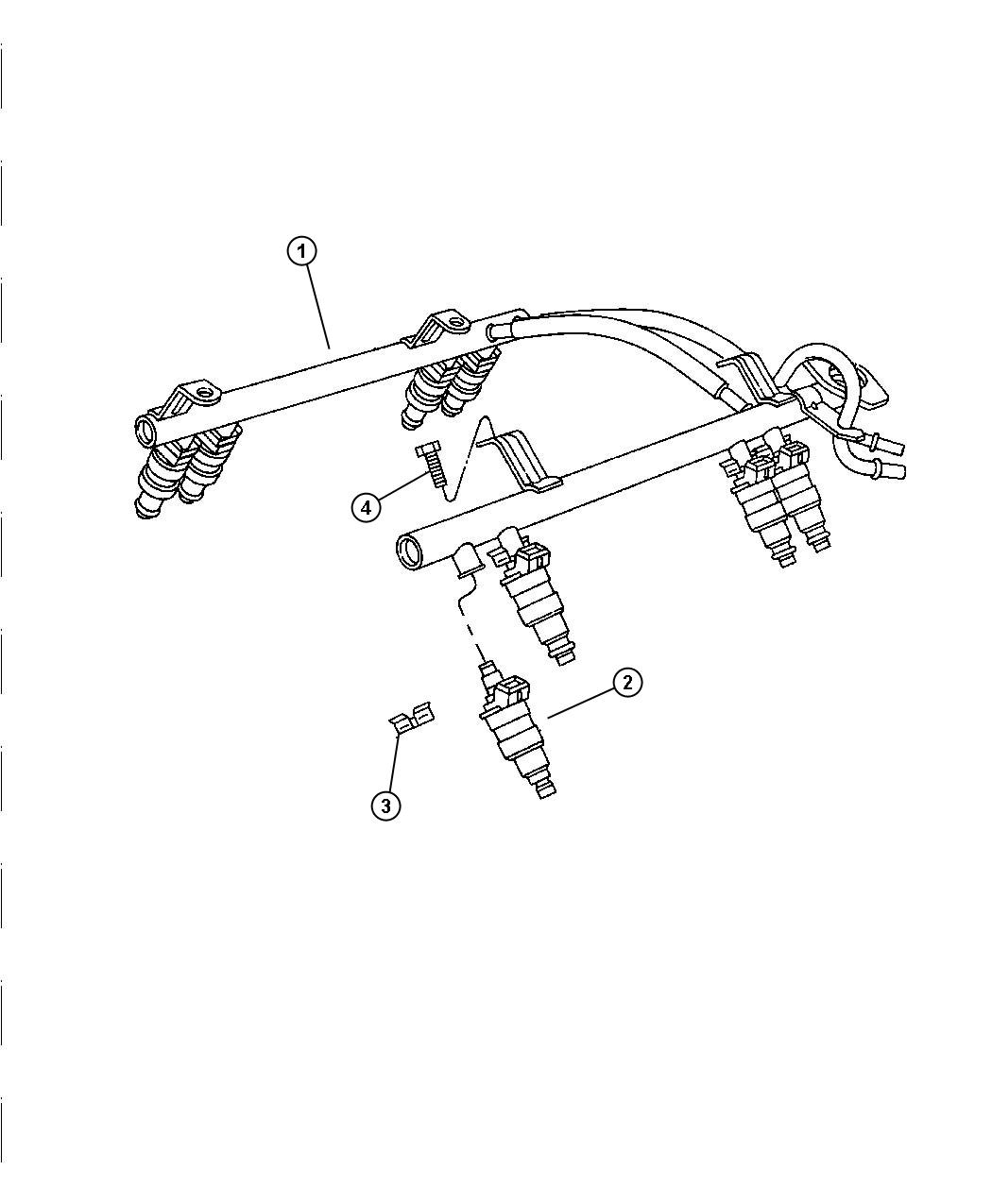 Dodge Ram Injector Fuel Remanufactured Xck