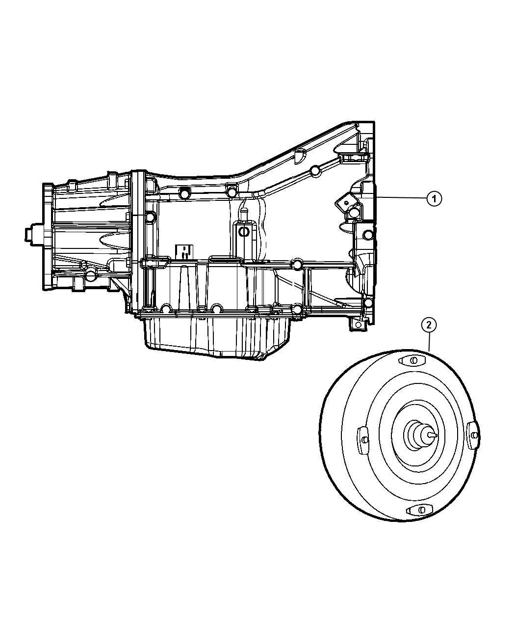 Jeep Wrangler Transmission Package