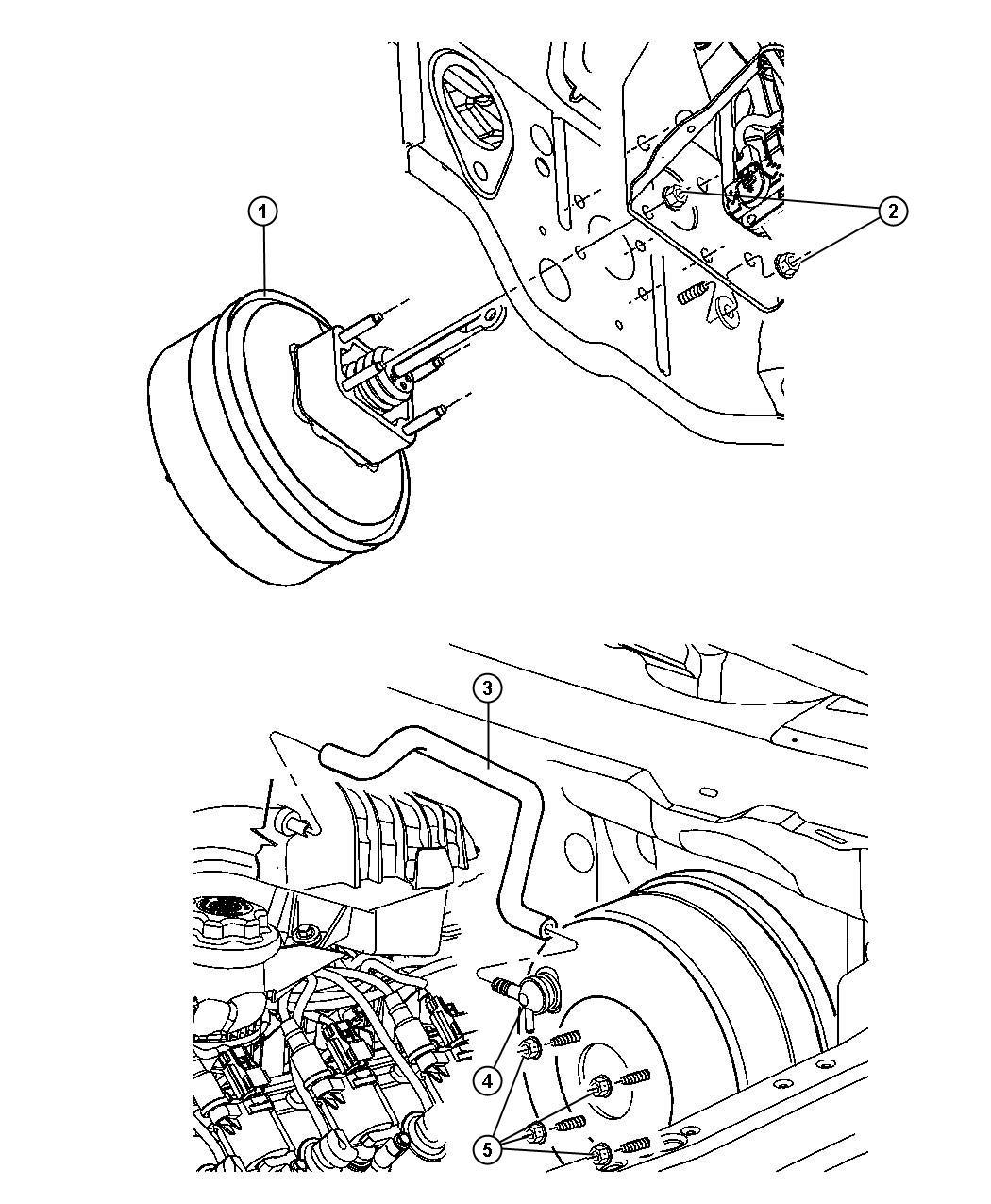 Dodge Durango Valve Vacuum Check With Grommet