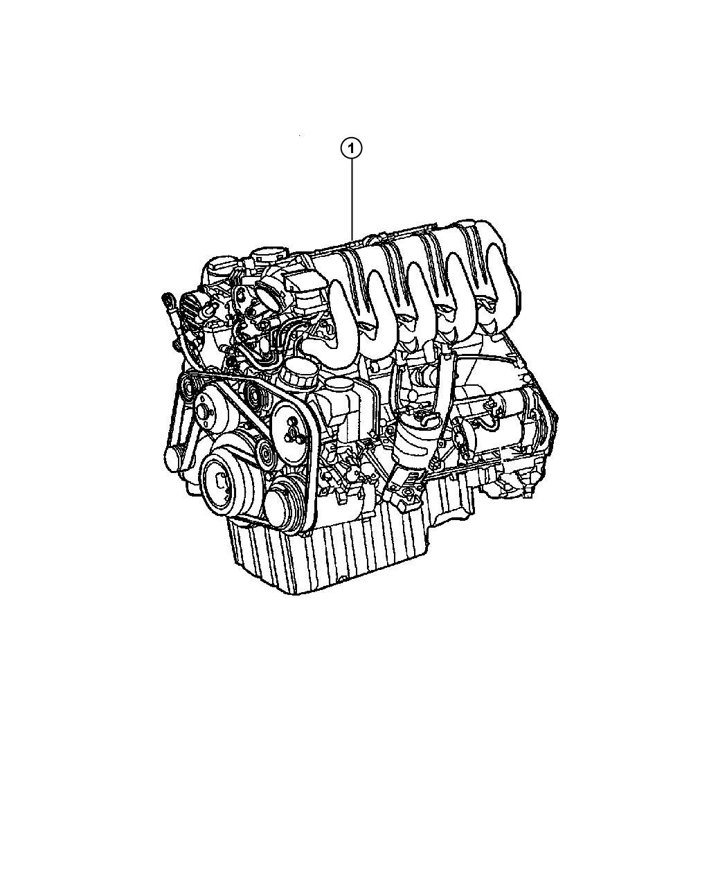 Dodge Sprinter Engine Complete