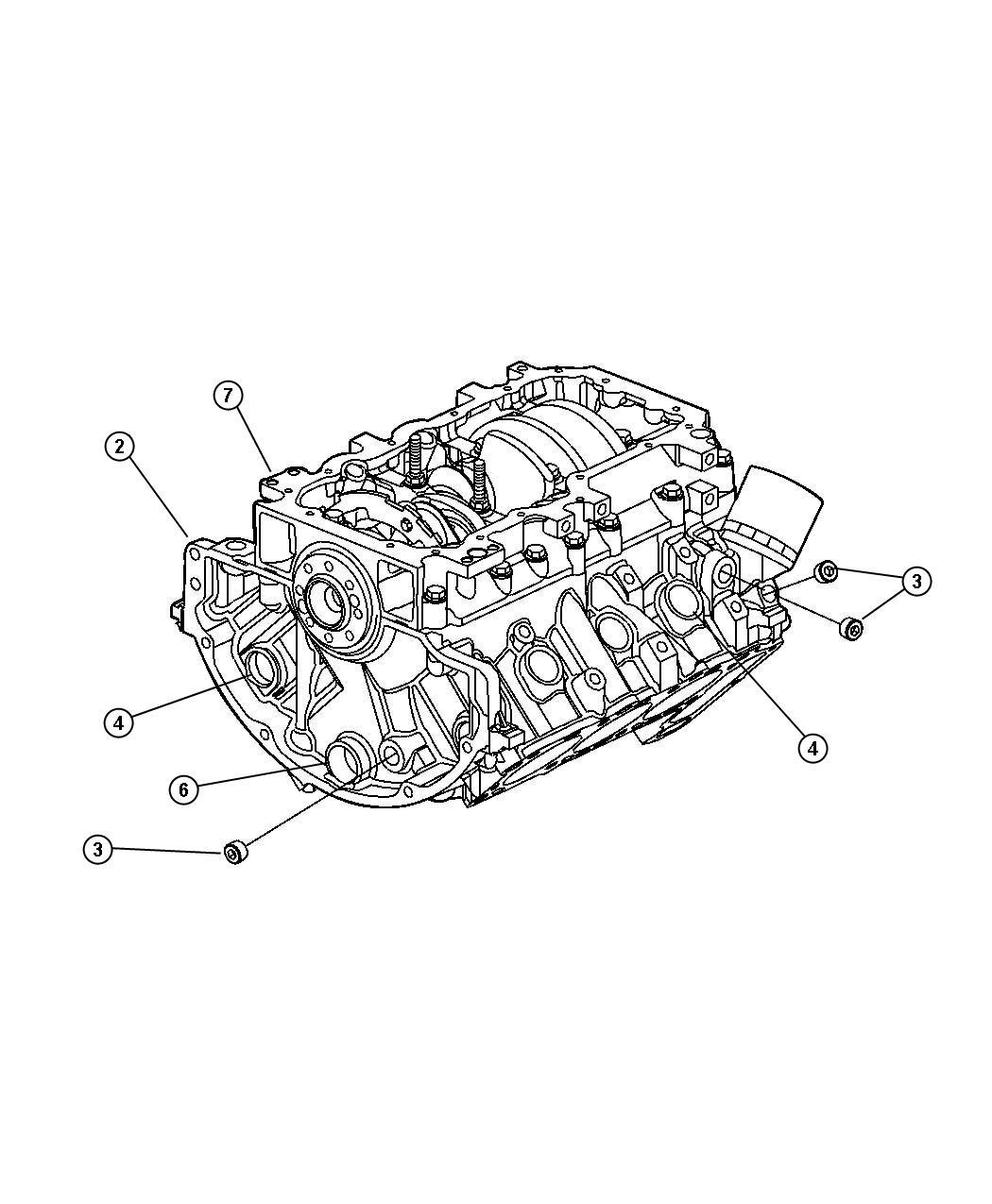 Dodge Nitro Gasket Kit Gasket Package Engine Engine
