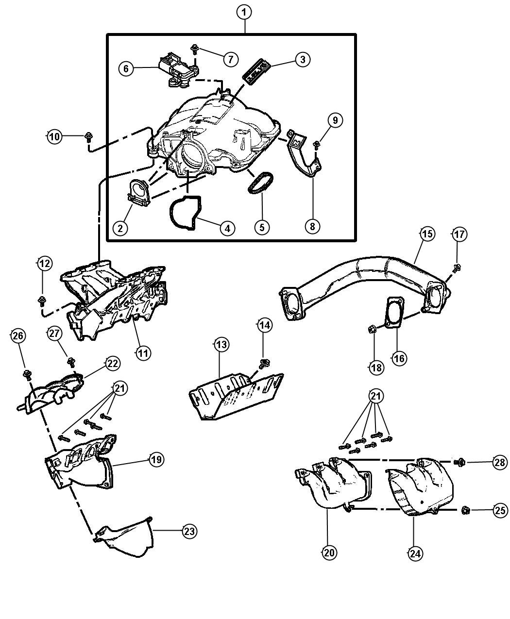 Dodge Grand Caravan Plenum Intake Manifold Notes