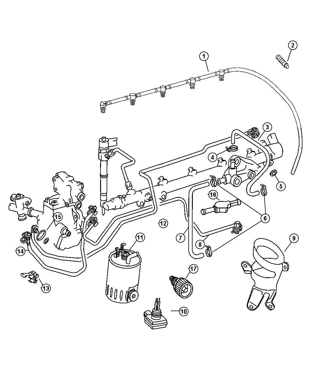 Dodge Sprinter Filter Fuelselemissions Cly