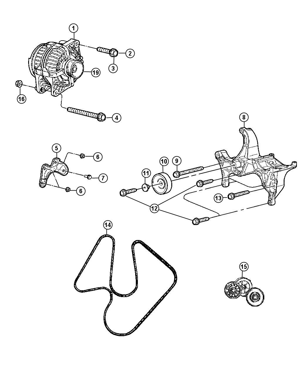 Dodge Bolt Used For Screw And Washer Hex Head