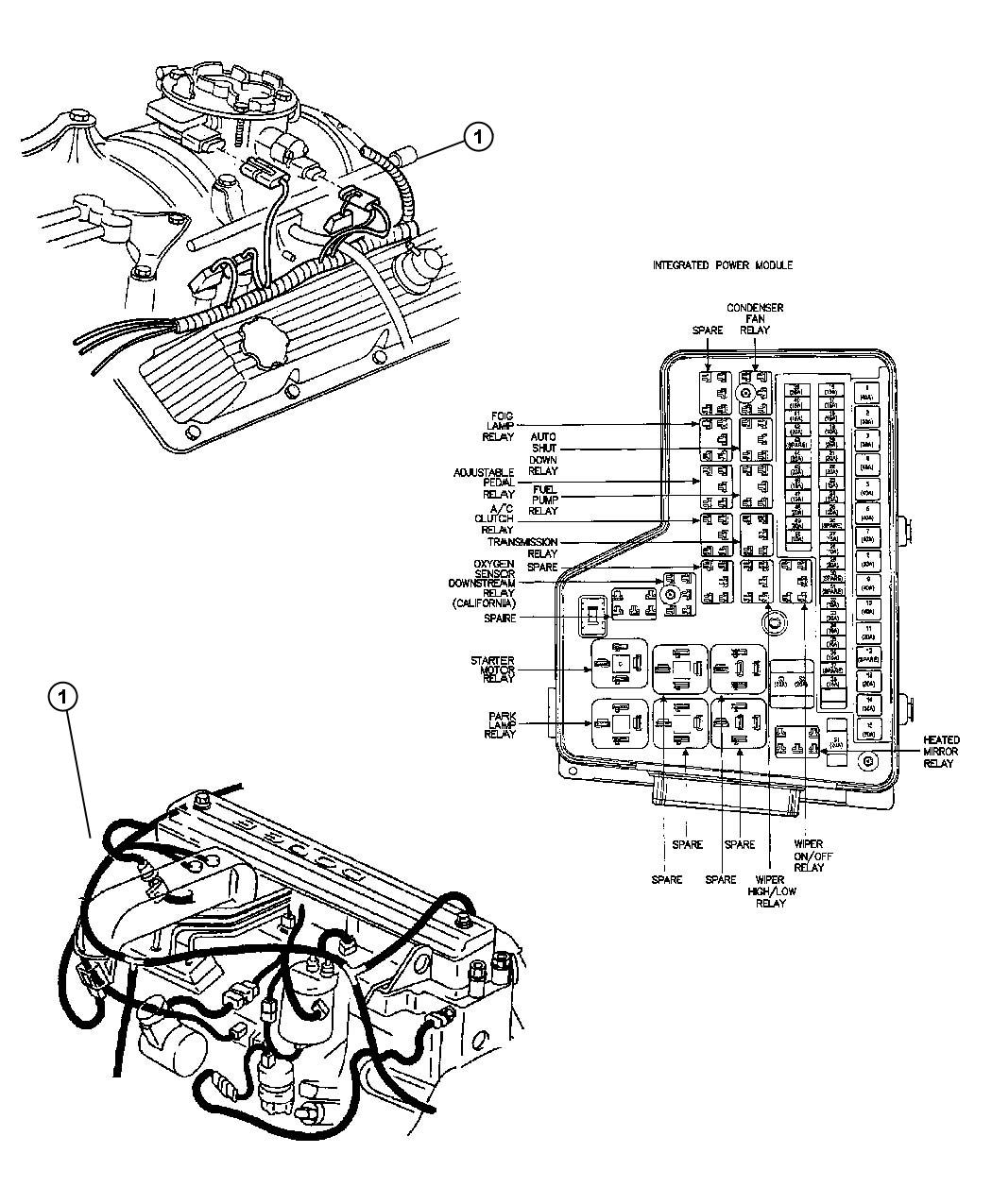 Dodge Ram Bracket Engine Wiring
