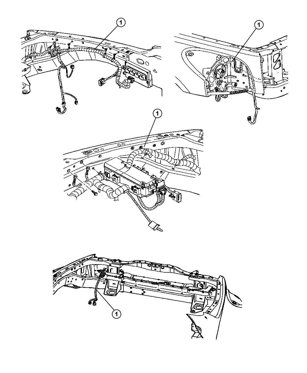 Dodge Dakota Wiring Headlamp To Dash Brakes