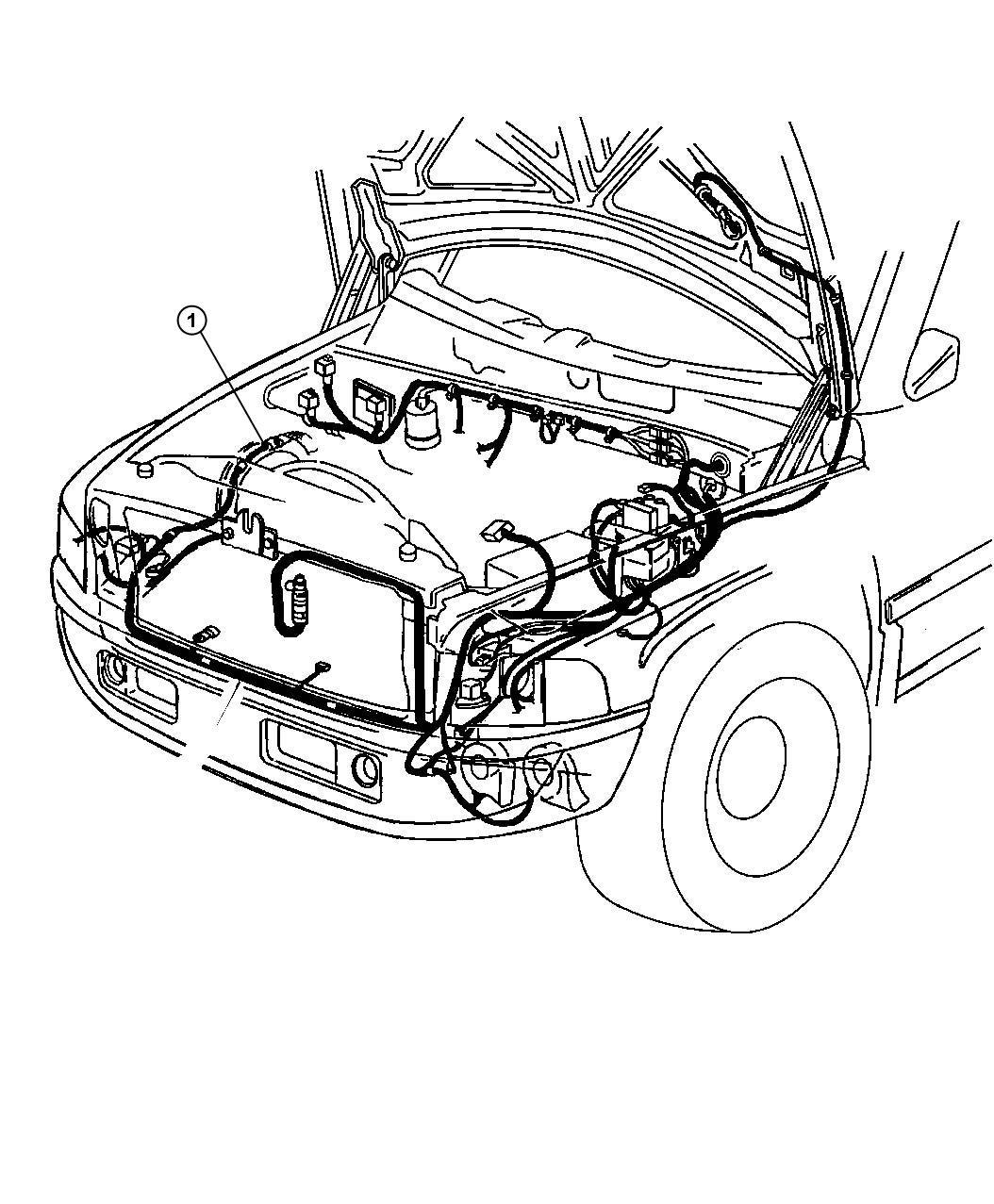 Dodge Ram Link Wiring Jumper Fan Motor Convert