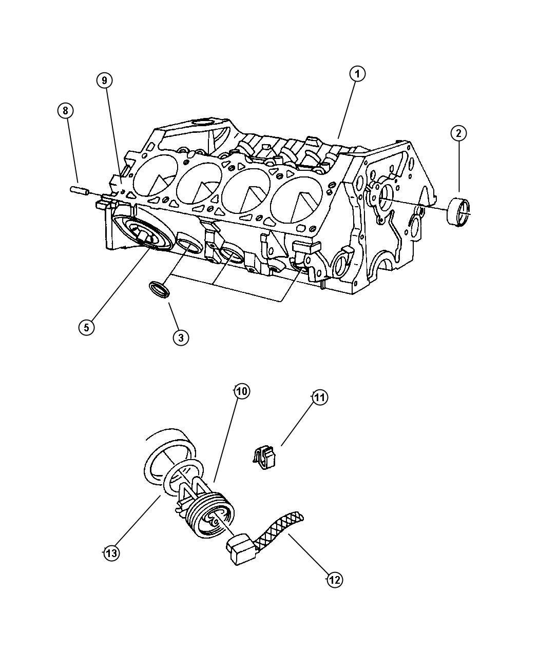 Jeep Grand Cherokee O Ring Engine Block Heater