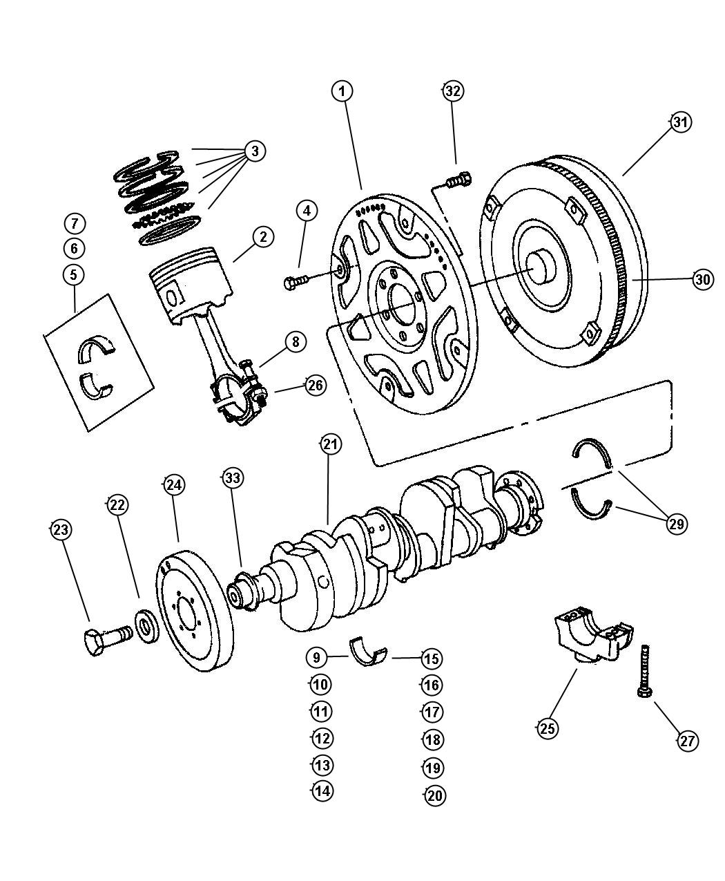 Service Manual Jeep Grand Cherokee Torque Converter