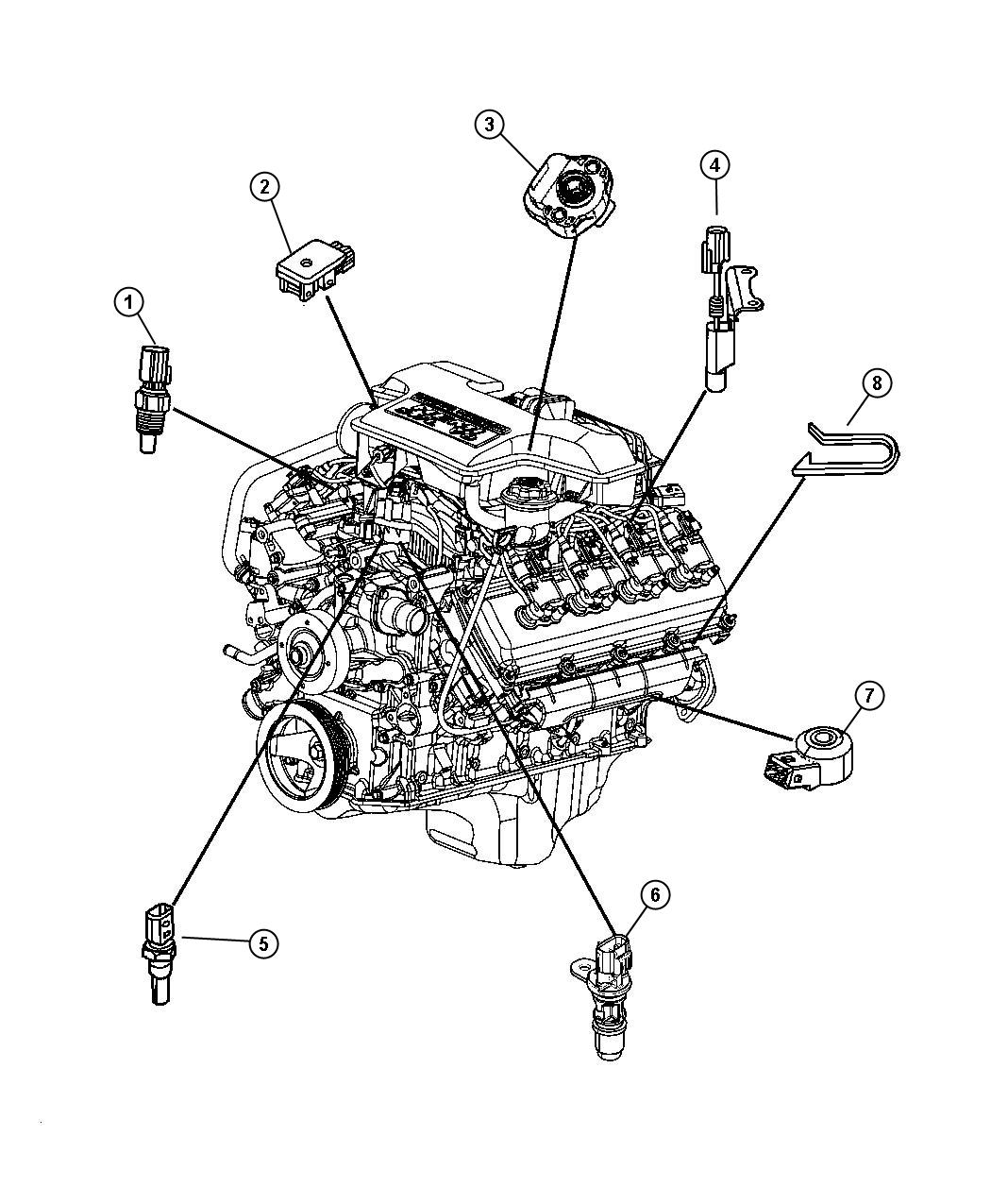Dodge Ram Sensor Map After 01 06 06 Up To 01 11 06