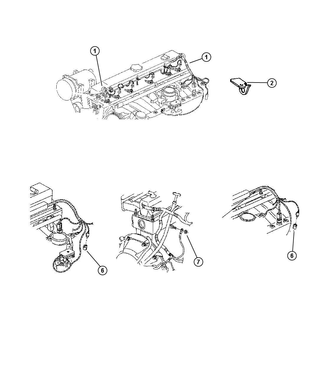 Jeep Wrangler Cap Screw Cover Courtesy Lamps Diagnostic