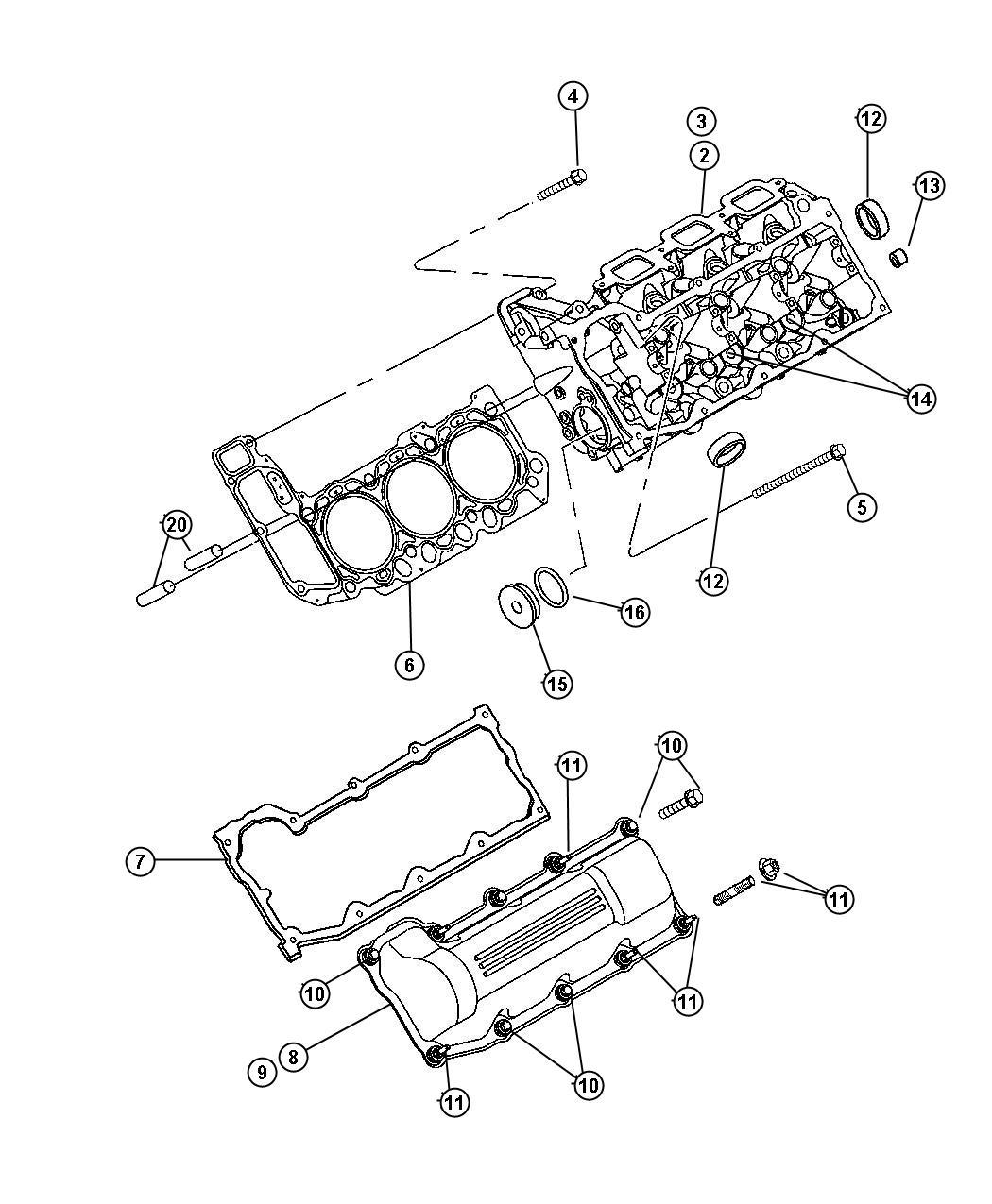 V8 Engine Oil Fill