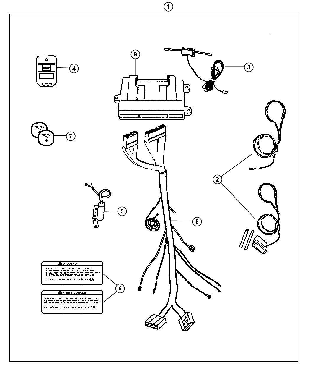 Jeep Liberty Transmitter
