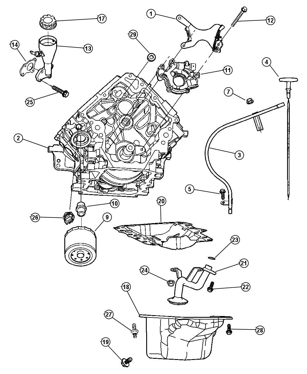 Dodge Durango Timing Drive Package Used For Chain And