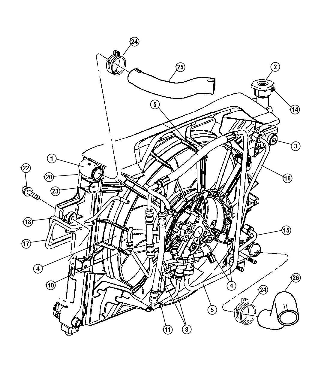 Jeep Transmission Wiring Harnes