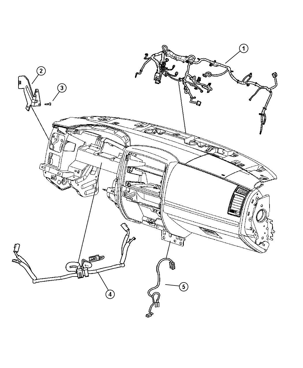 Dodge Dakota Wiring Instrument Panel