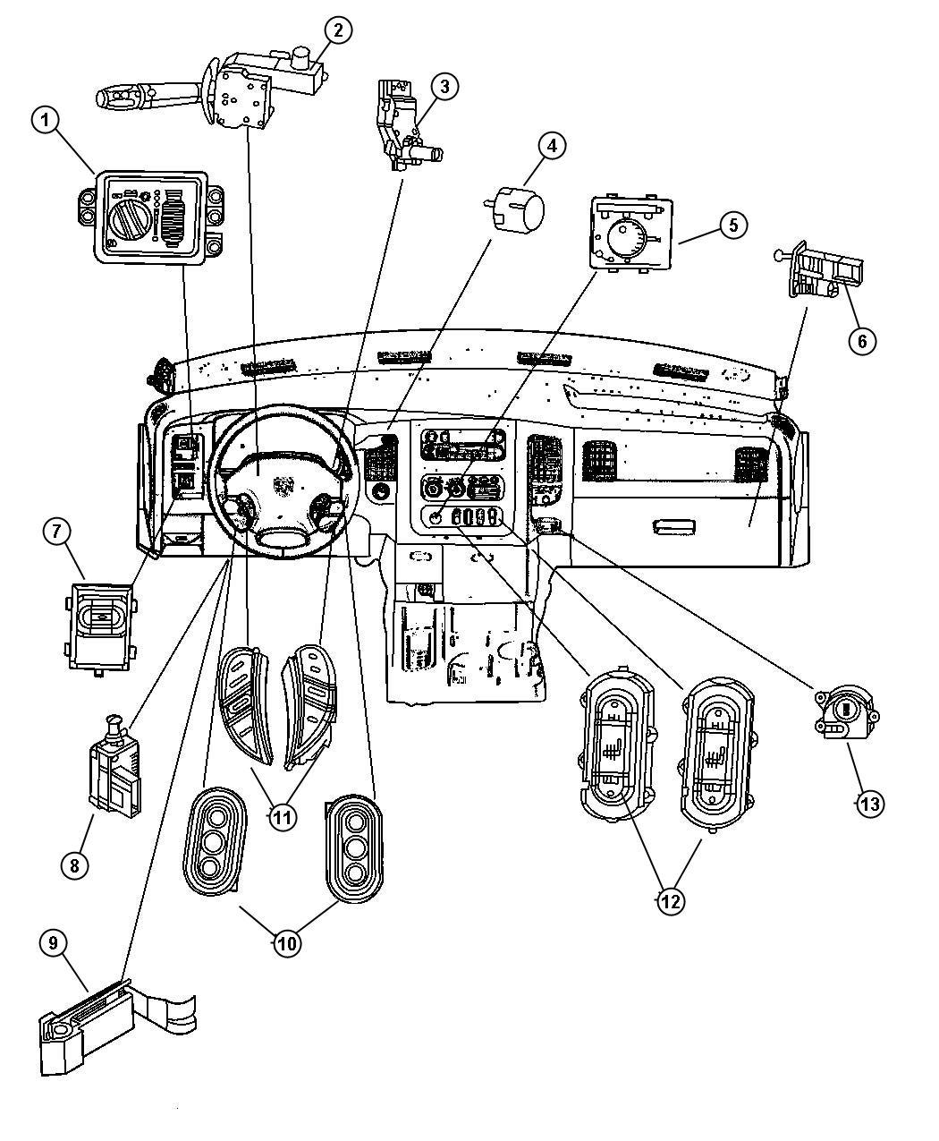 Dodge Ram Switch Ignition Wiperstilt