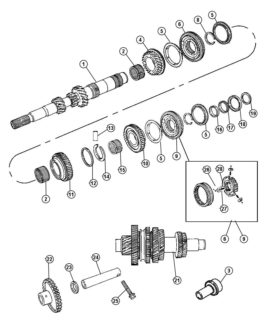 Chrysler Town And Country Fuse Box Diagram