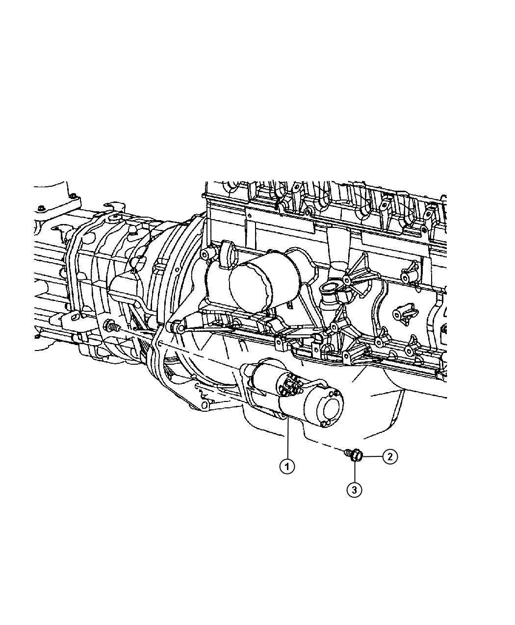 Jeep Wrangler Starter Engine