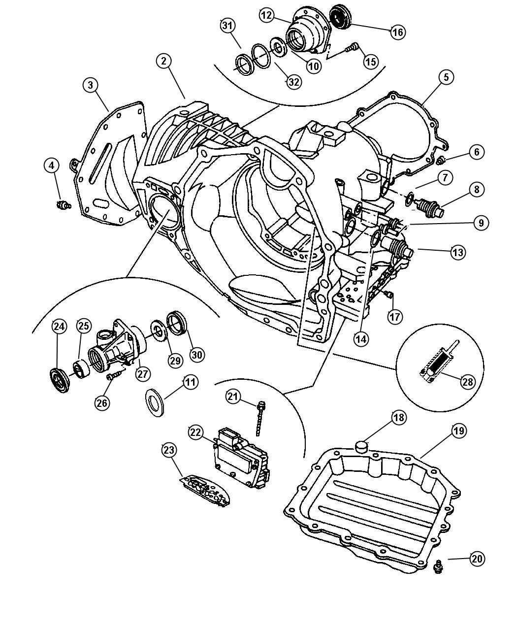 Chrysler Used For Seal And Gasket Package