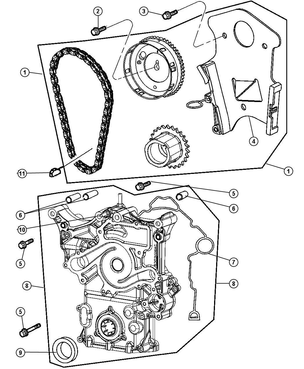 Jeep Grand Cherokee Timing Drive Kit Engine Mega Cab