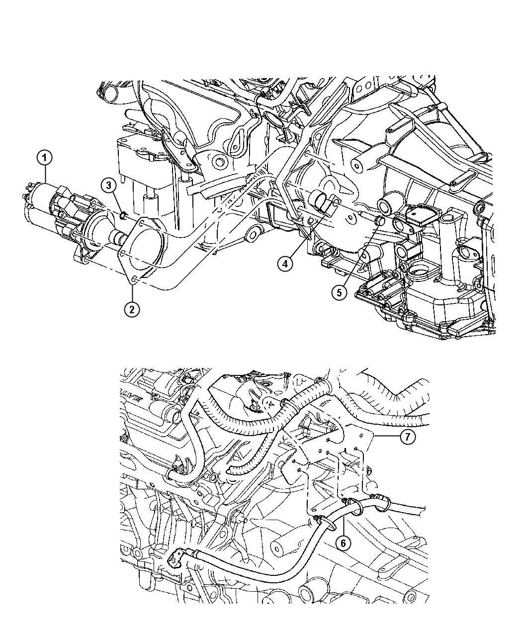 Dodge Intrepid Shield Starter