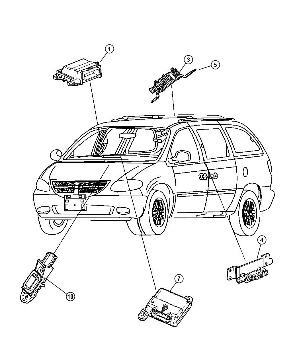 Chrysler Town Country Fuse Box Diagram