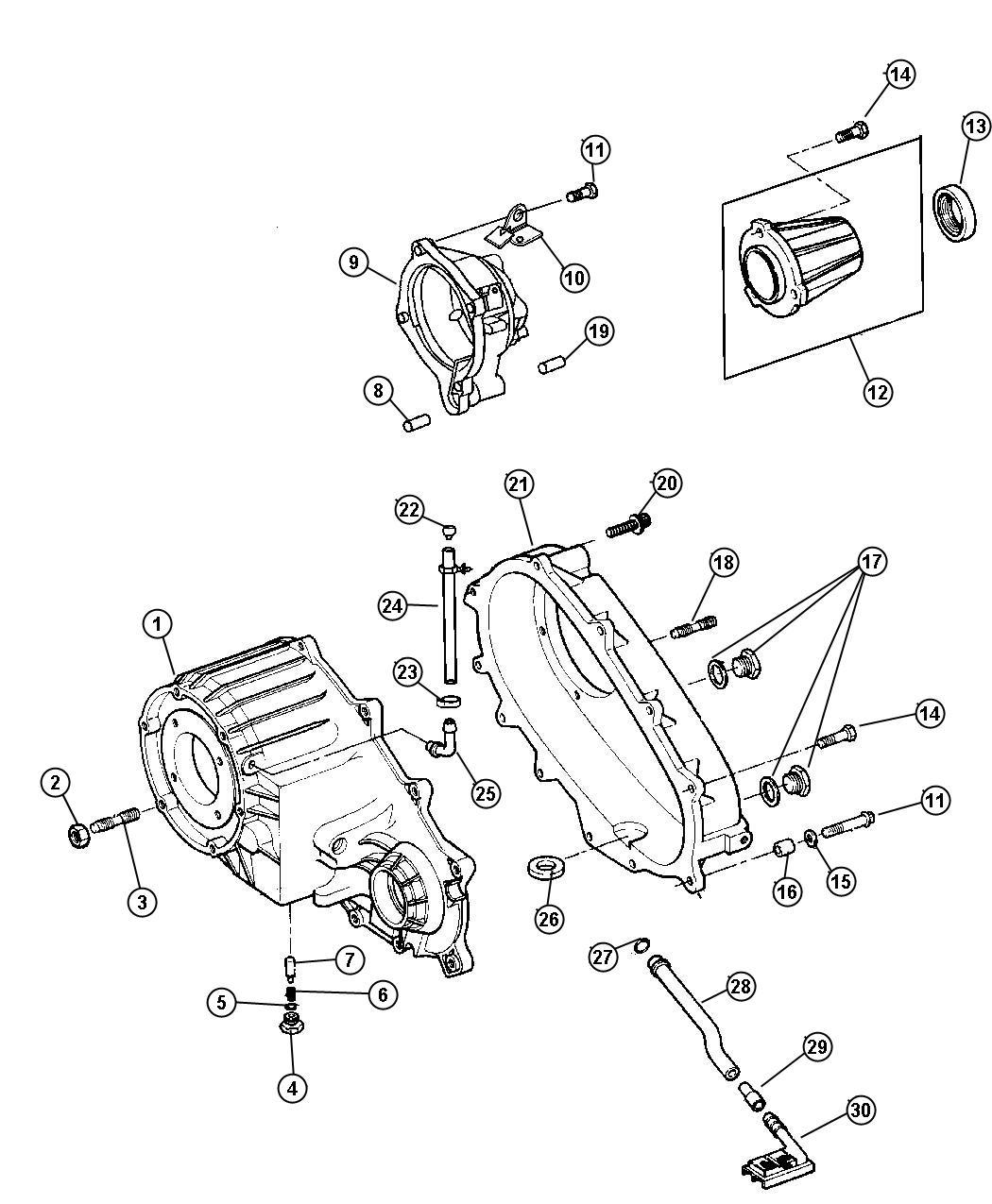 Dodge Dakota Case Transfer Front Elecshiftontheflyftime