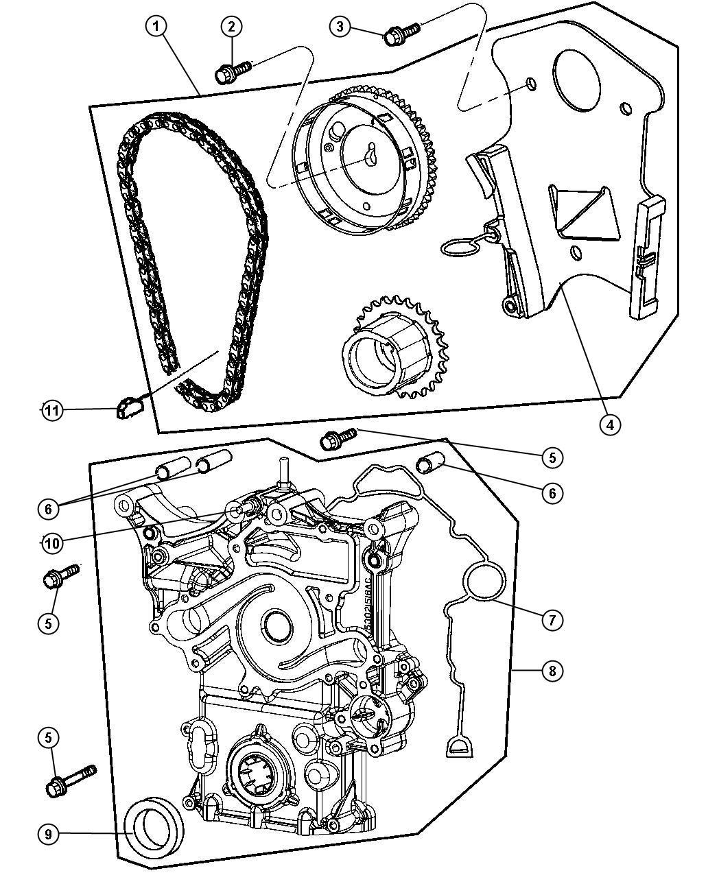 Dodge Durango Timing Drive Kit Engine Mega Cab Quad Cab