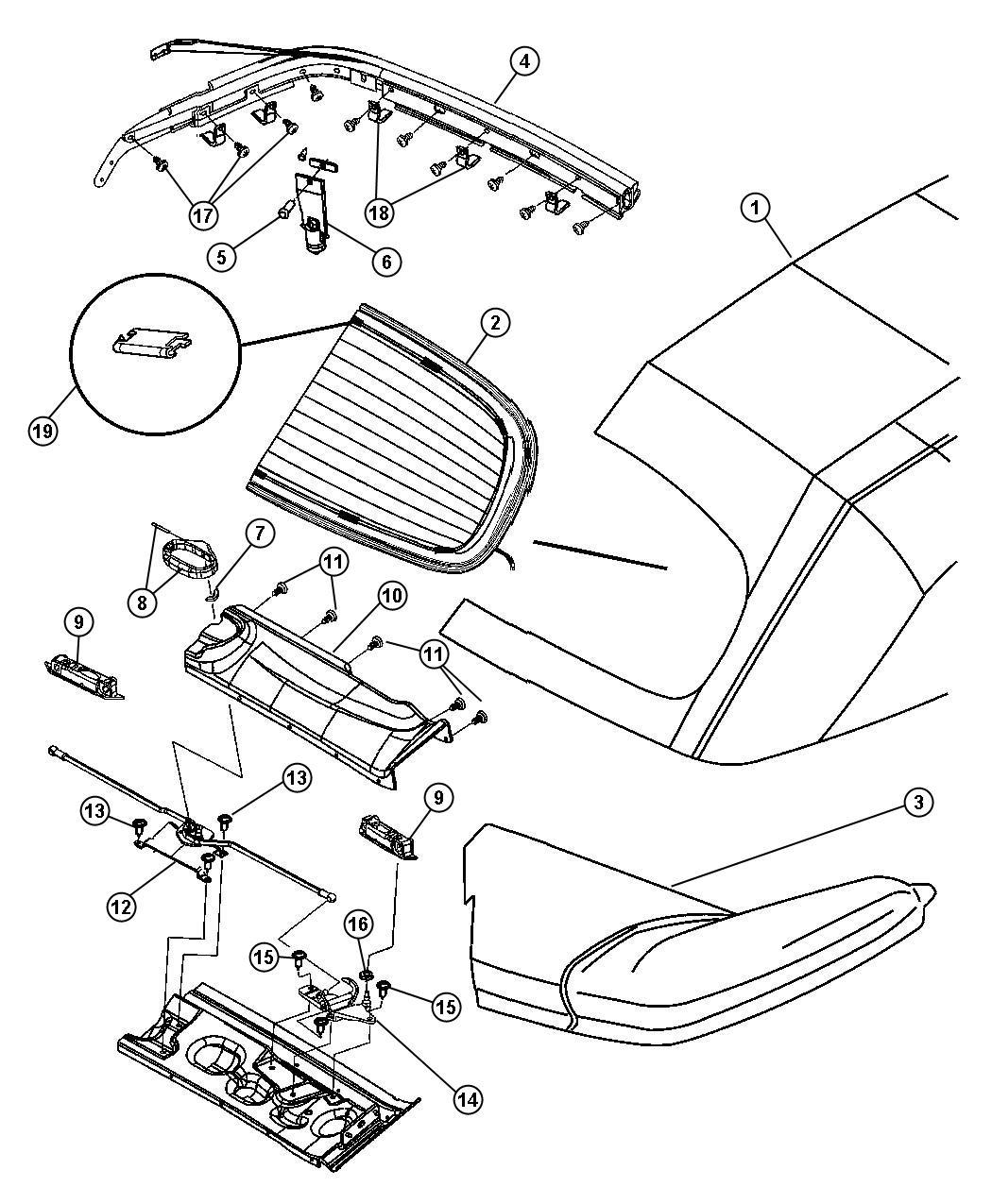 Chrysler Pt Cruiser Grommet Dowel Pin Slingwell