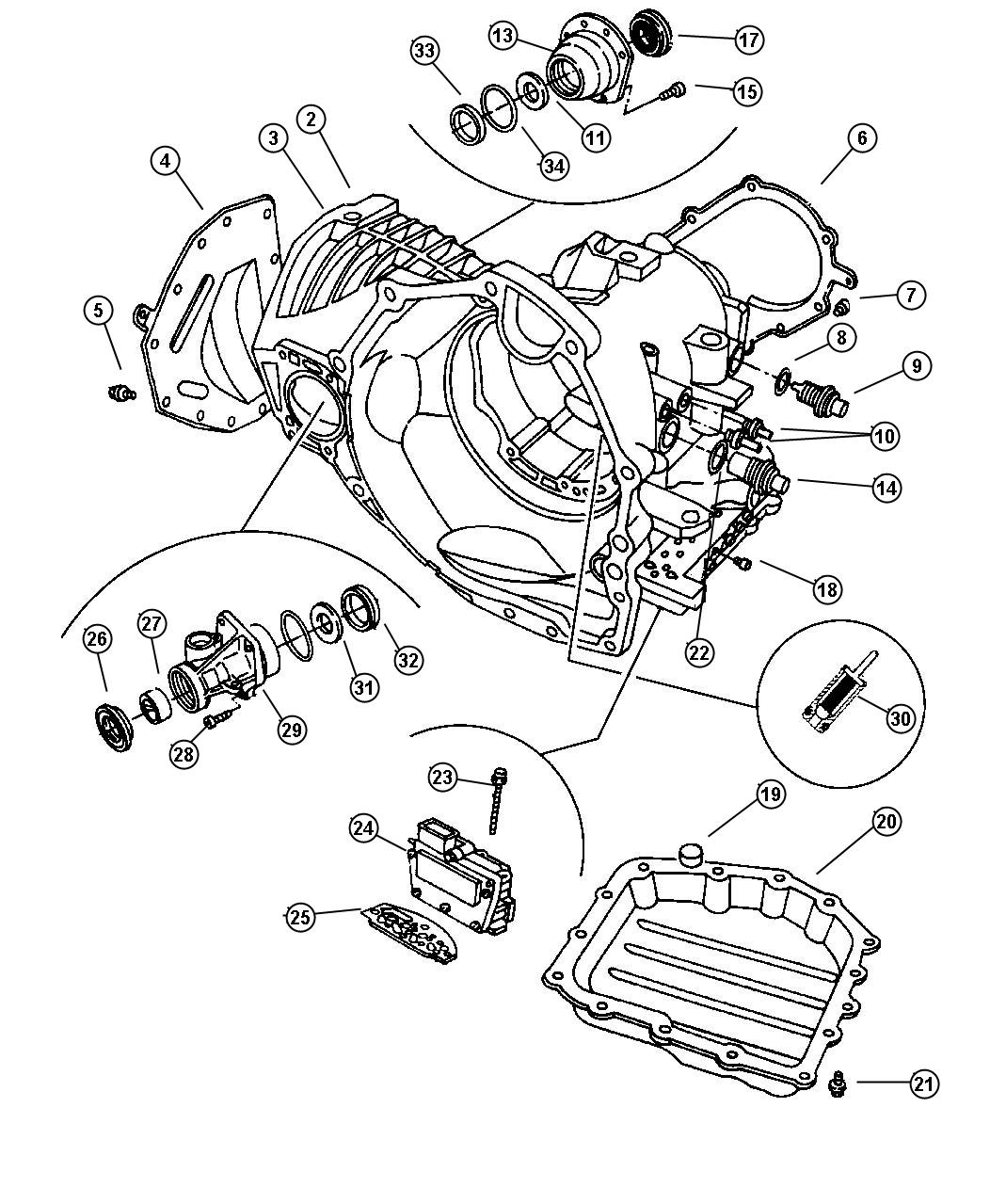 Dodge Ram Used For Seal And Gasket Package