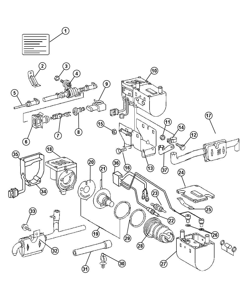 Dodge Sprinter Heater Supplementalsel Fuel Front