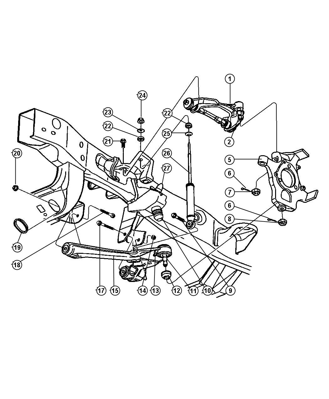 Chrysler 300 Bolt Used For Bolt And Washer Used