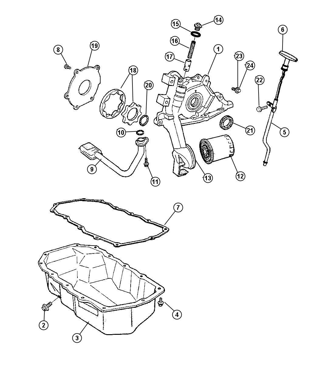 Chrysler Pt Cruiser Bolt Used For Screw And Washer Hex