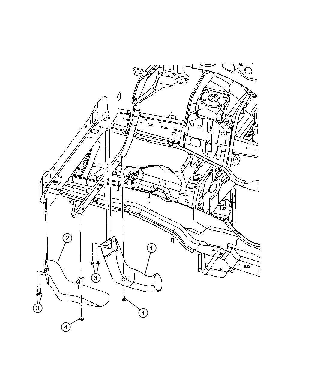 Jeep Grand Cherokee Limited Pin Push Pin M11 4 M8x21