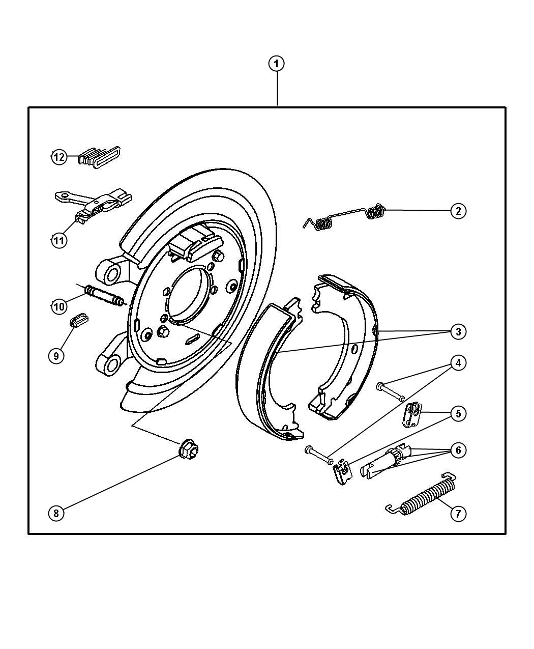 How To Replace Parking Brake Shoes On Dodge Ram