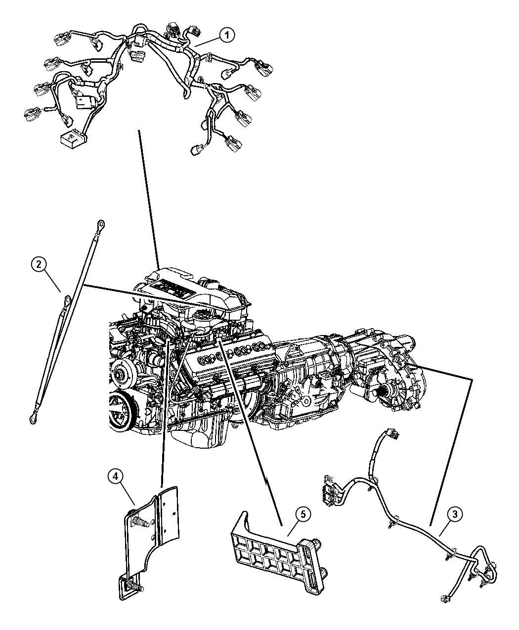 Dodge Ram Bracket Engine Wiring