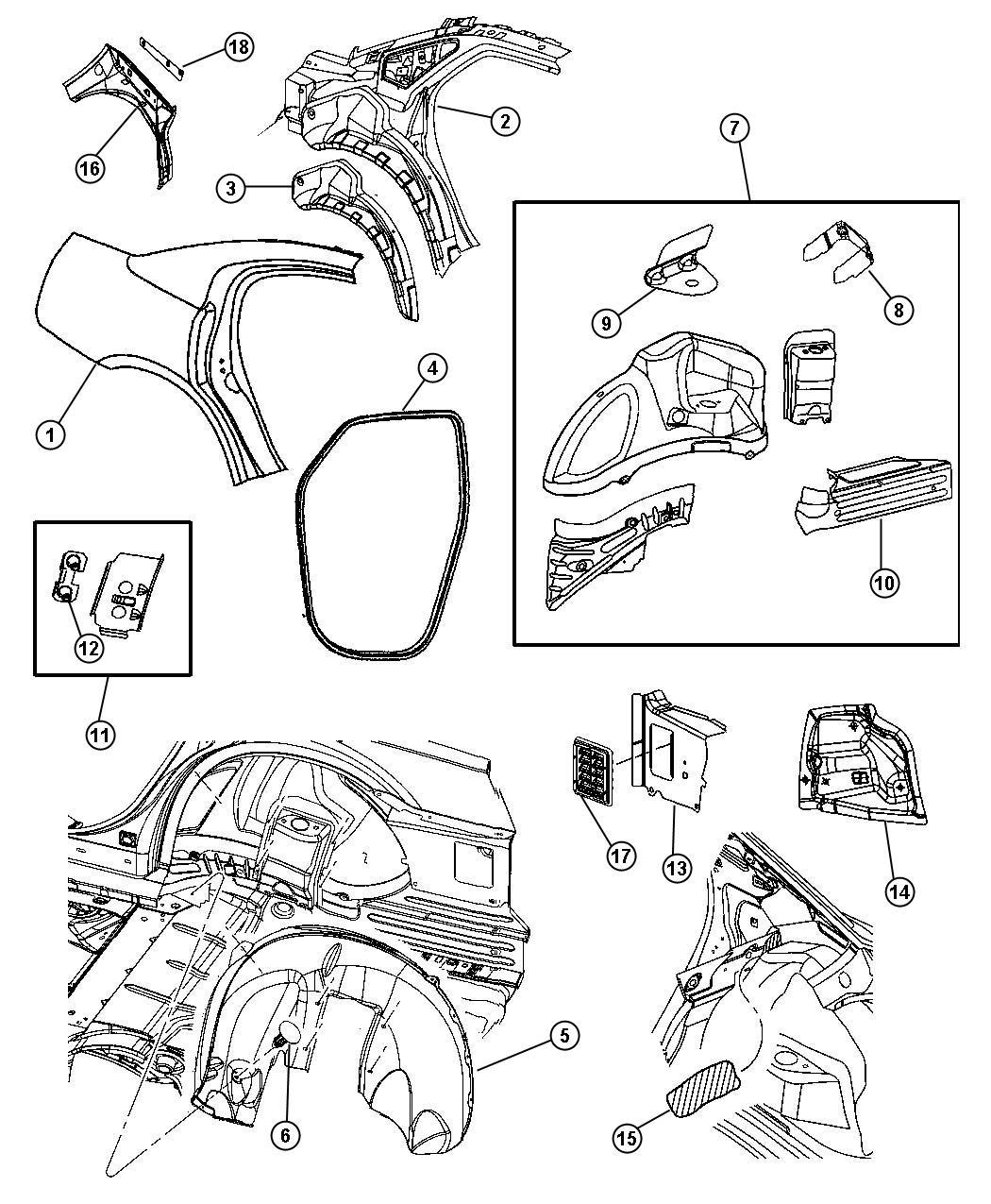 Dodge Charger R T 5 7l Hemi V8 Panel Body Side