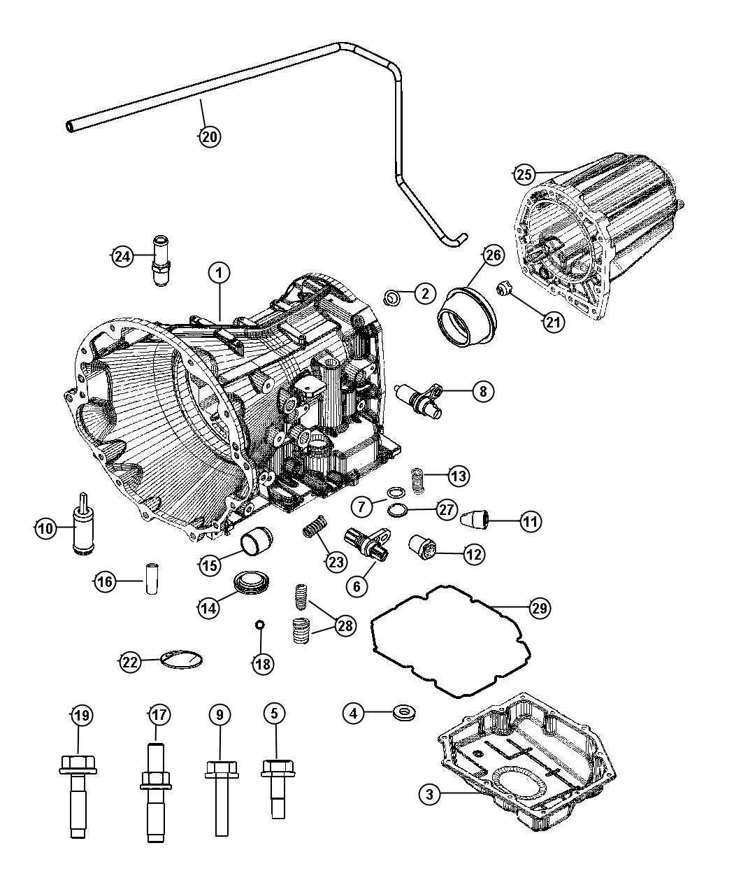 Dodge Ram Fitting Fitting Kit Quick Connect Cooler