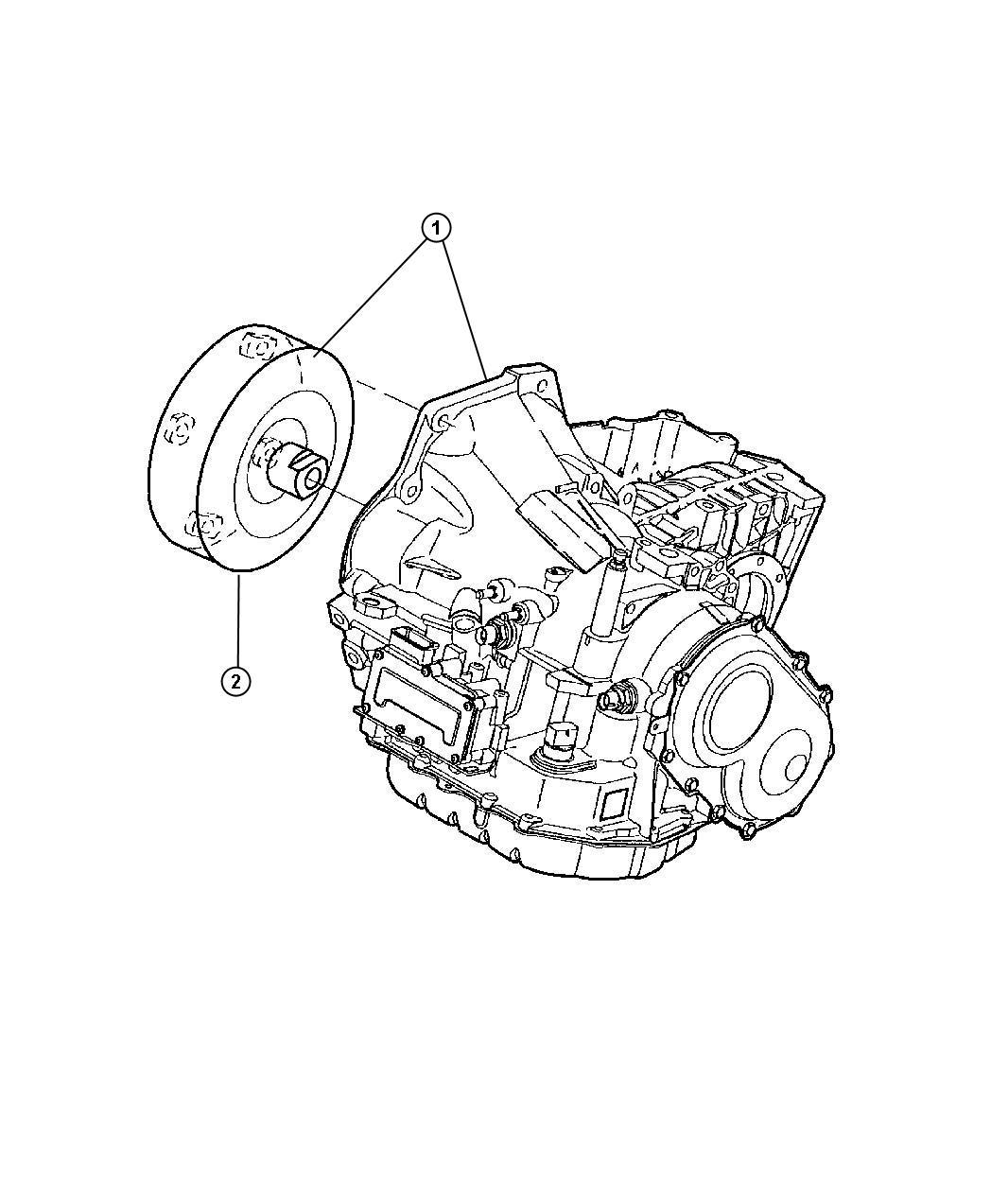 Chrysler Town Amp Country Base 3 3l V6 Transaxle