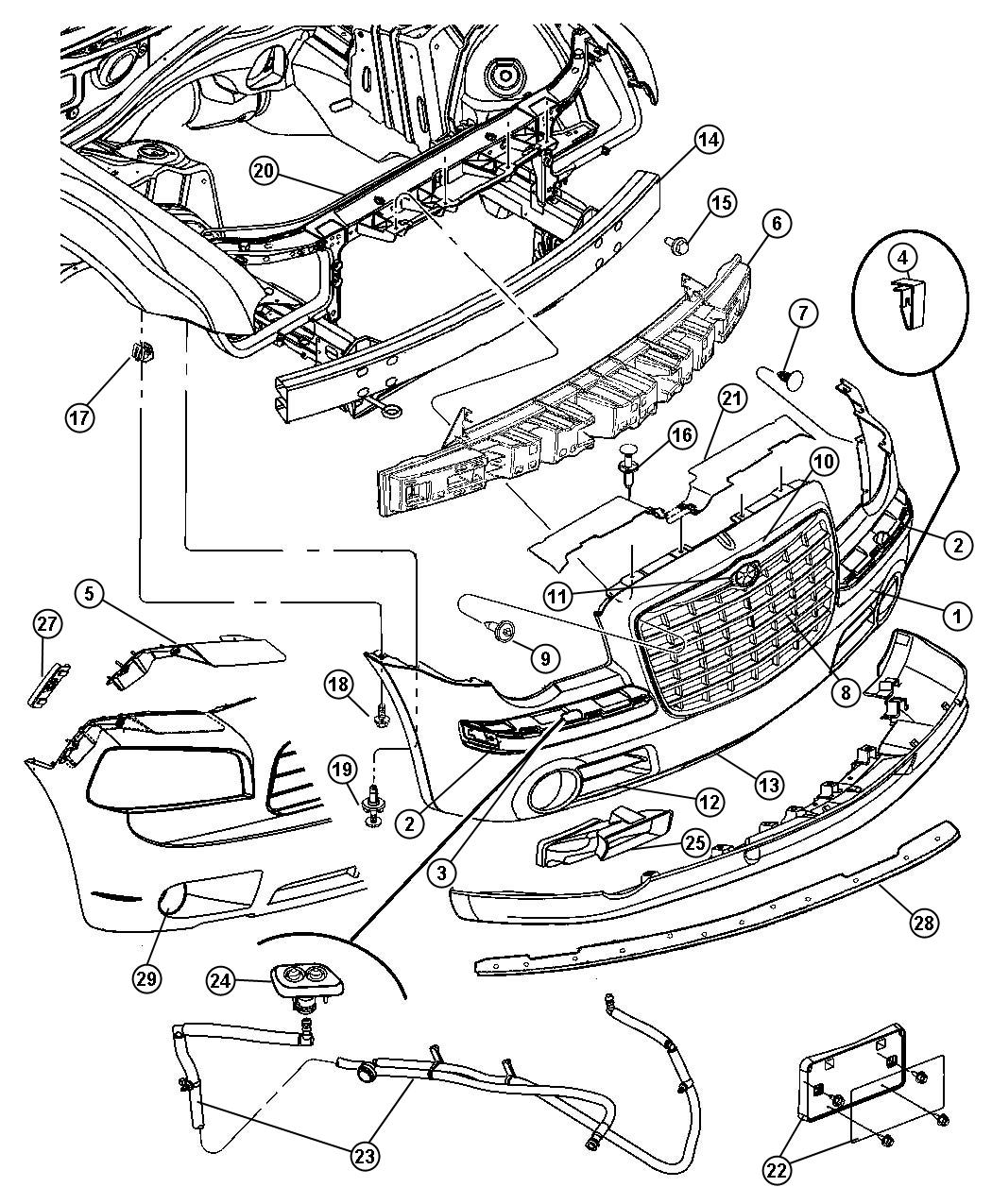 Exploded View Chrysler Town Country Manual