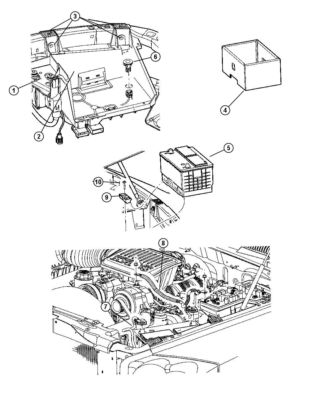 Dodge Ram Cover Shield Battery Thermoguard