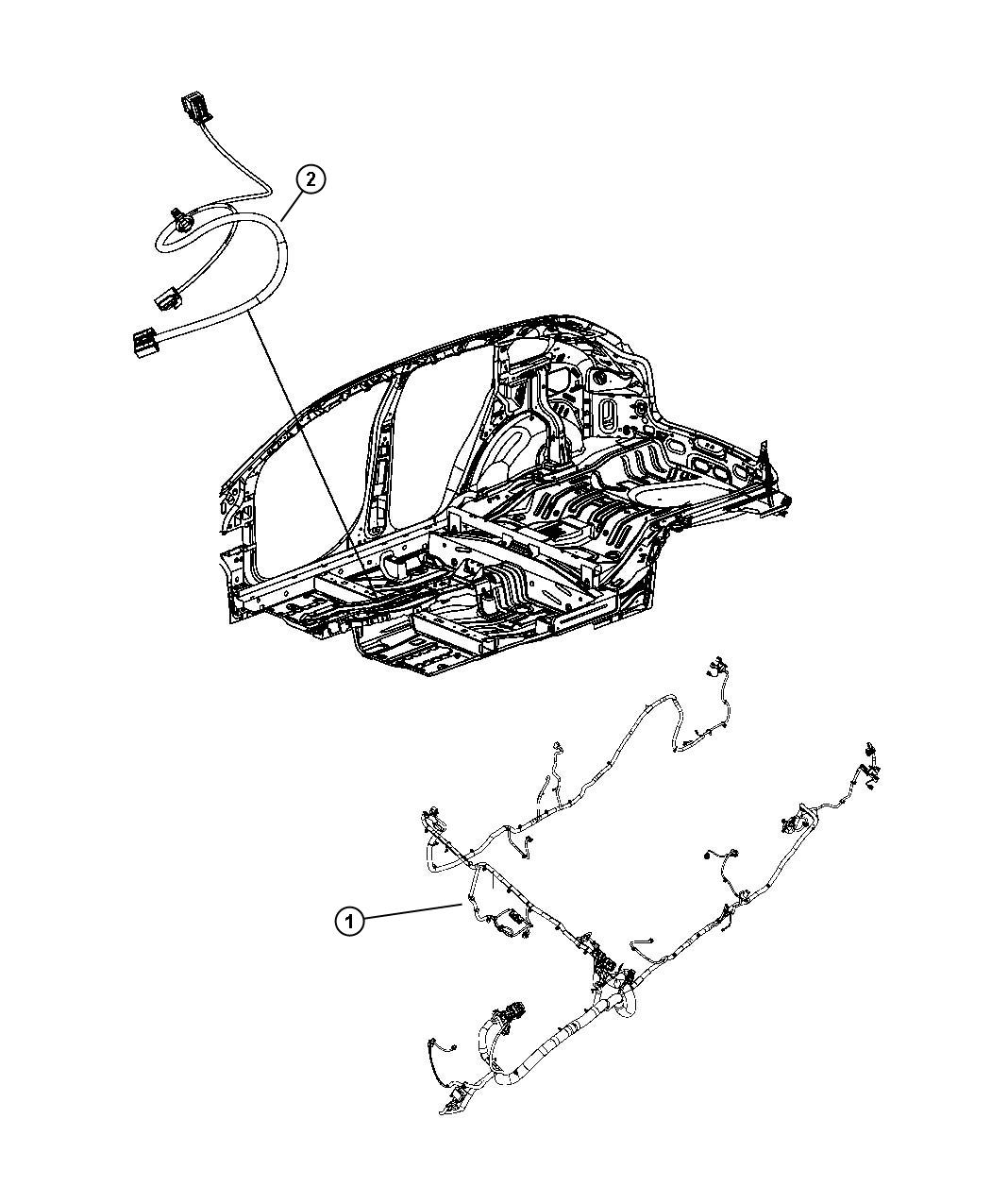 Dodge Caliber Wiring Unified Body