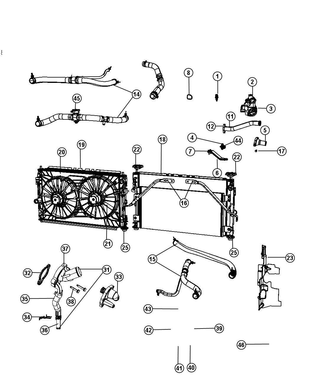 Chrysler Sebring Parts Diagram