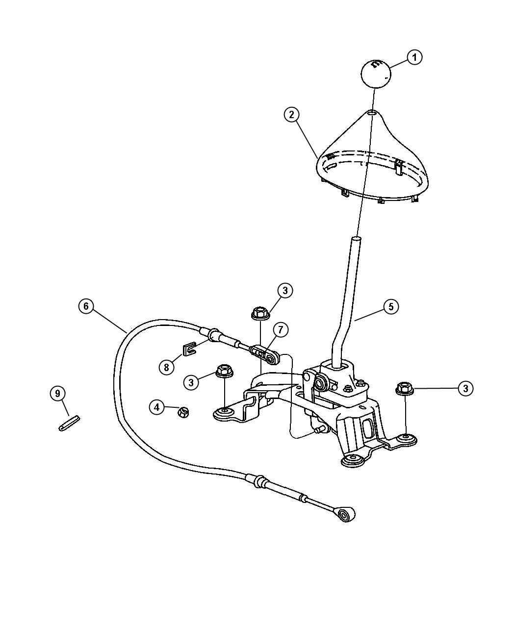 Chrysler Pt Cruiser Knob Gearshift Trim All Trim Codes